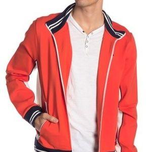Tommy Hilfiger Full Zip Track Jacket Orange